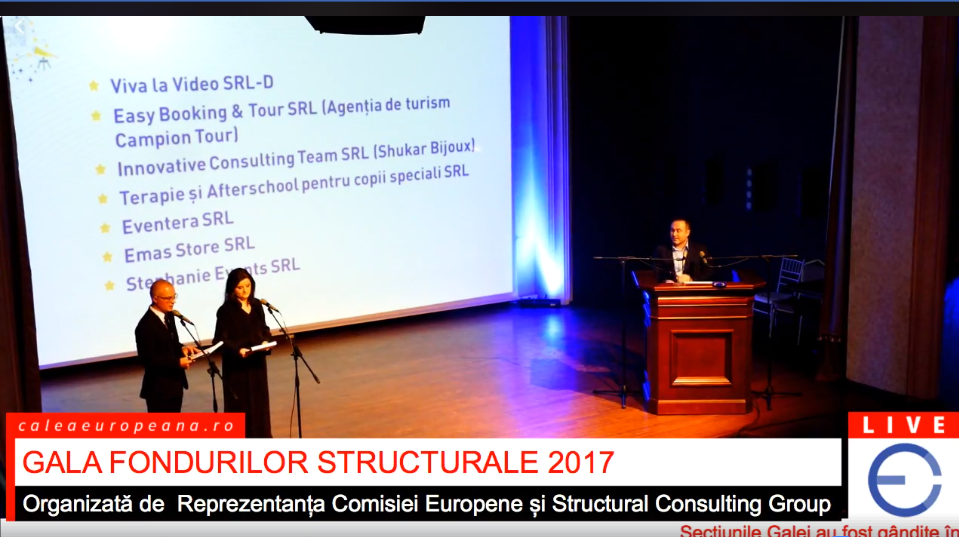 foto gala fondurilor structurale